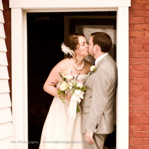 Pemaquid point coastal maine wedding portraits. Captured by Maine wedding photographer, HAL Photography.